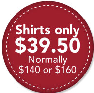 How can I offer $140 shirt for only $39.50?